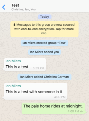 Attack of the Week: Group Messaging in WhatsApp and Signal